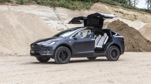 Tesla Model X Delta 4×4