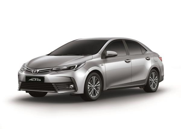 รูปโฉมของ Toyota Corolla  Altis   รุ่น 1.8S ใหม่