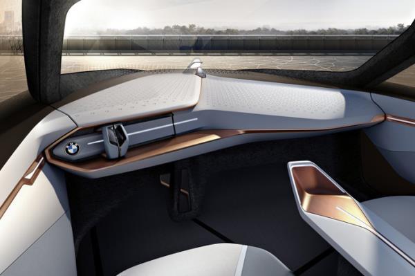 ดีไซน์ภายใน BMW VISION NEXT 100