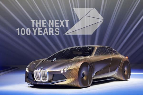 BMW VISION NEXT 100 ยานยนต์แห่งโลกอนาคตฉลองครบ 100 ปี