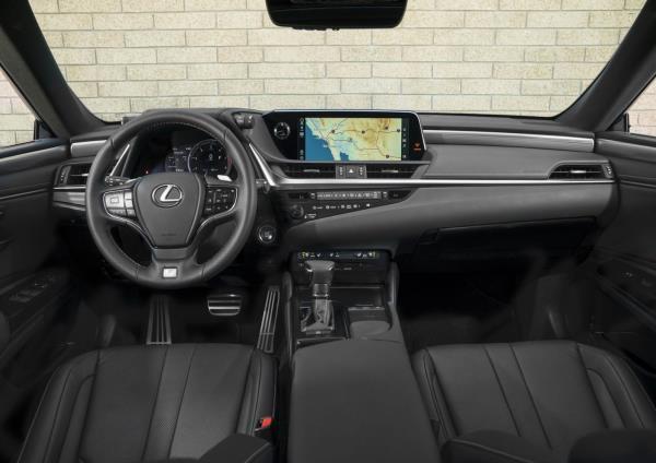 ภายใน All-new Lexus ES เจนใหม่