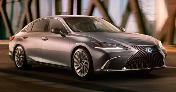 All-new Lexus ES โฉมใหม่