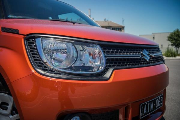 ดีไซน์ภายนอกของ MINI SUV  SUZUKI IGNIS 2018