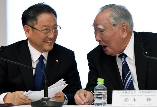 Akio Toyoda-Osamu Suzuki