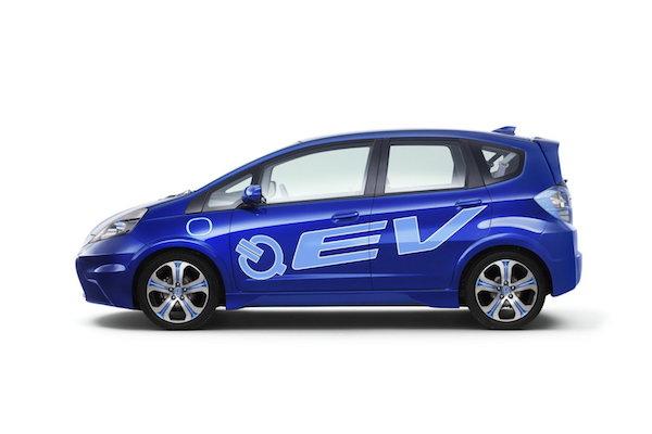 Fit EV รถไฟฟ้าเต็มรูปแบบ พัฒนาจาก Honda Fit โฉม GE