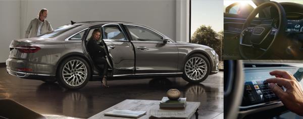 ยนตรกรรมเลอค่า The New Audi A8 L   ตัวท็อปสำหรับค่ายรถ 4 ห่วง