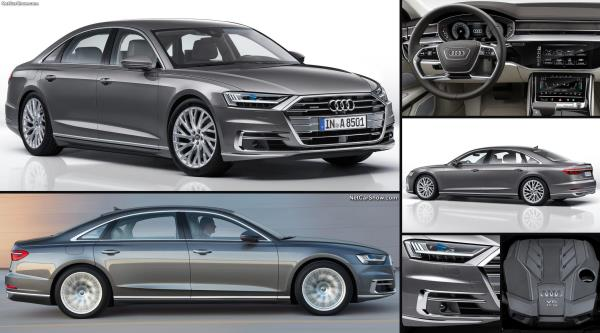 The New Audi A8 L  รถหรูเฟิร์สคลาสที่เข้ามาเปิดตลาดในไทยแล้ว