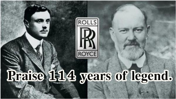 ผู้บุกเบิกของ Rolls-Royce (Charles Rolls - Sir Henry Royce)