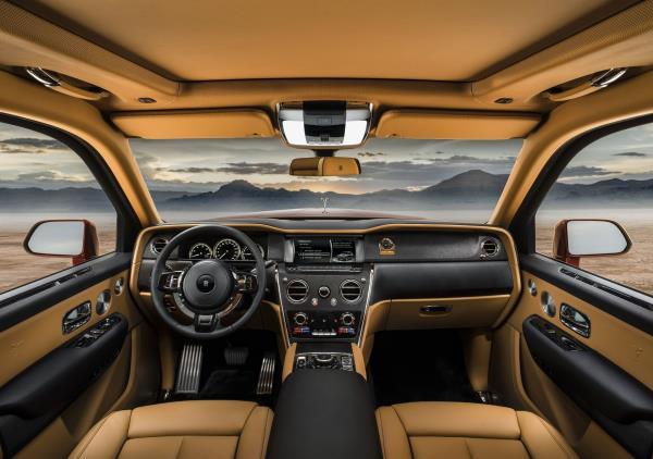 Rolls-Royce Cullinan 2018 บรรยากาศภายในสุดอลัง...ชมไลฟ์สไตล์ของมหาเศรษฐี