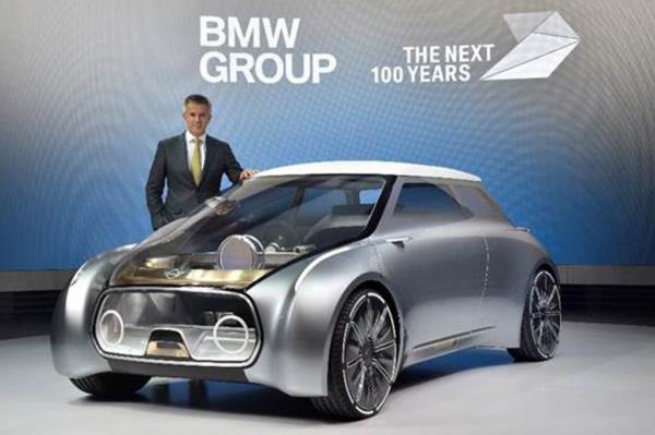 Mini BMW ในงาน BMV Group the next 100 years