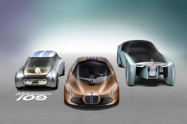 ชมความสวยหรูของ Mini BMW ในงาน BMV Group the next 100 years