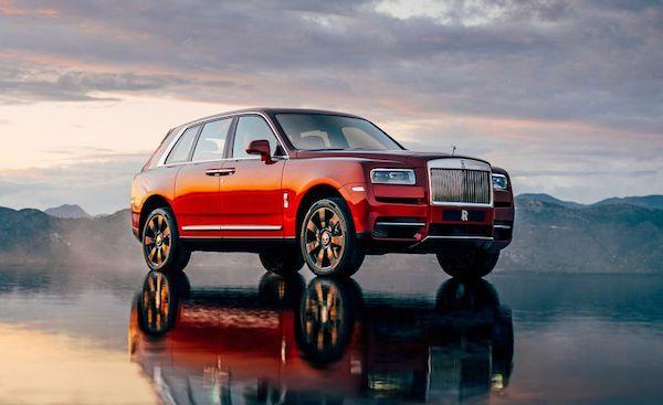 Rolls-Royce Cullinan หรูหราทุกการสัมผัส