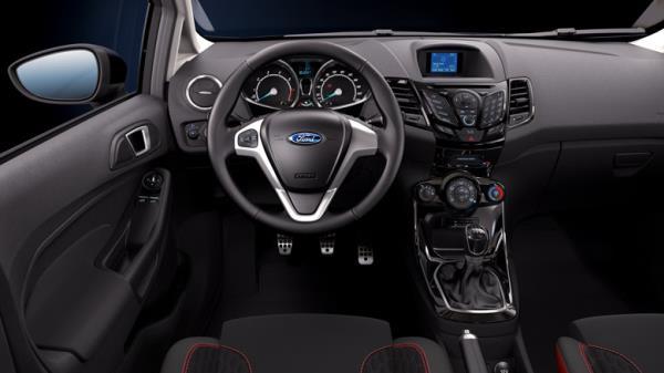 ชมความสวยงามของ Ford Fiesta Van 2018