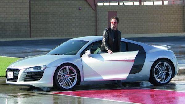 Robert Downey Jr. กับ Audi R8
