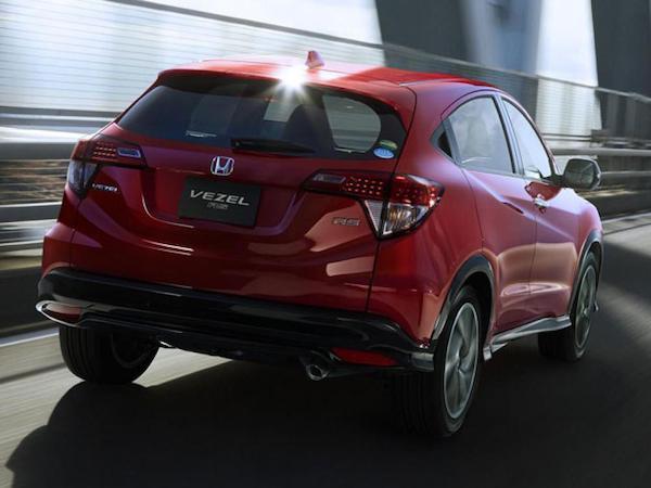 ดีไซน์ที่โฉมเฉี่ยวเสริมทุกมุมมองของ Honda HR-V