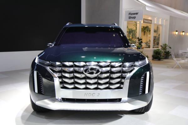 เกาหลีใต้เปิดตัวแล้วกับ Hyundai HDC-2 Grandmaster SUV concept