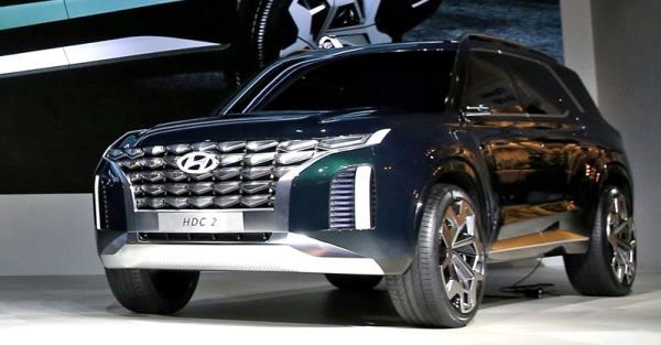 การออกแบบภายใน Hyundai HDC-2 Grandmaste