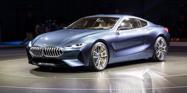 BMW Series 8 Concept ตัวต้นแบบของ BMW Series 8 ที่หลายคนรอคอย