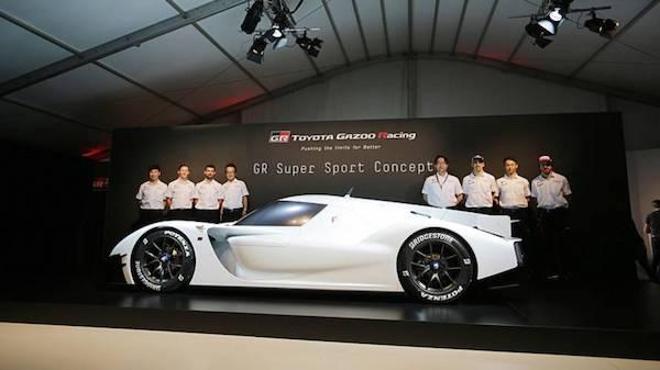 toyota GR Super Sport Concept ที่มาพร้อมระบบไฮบริด