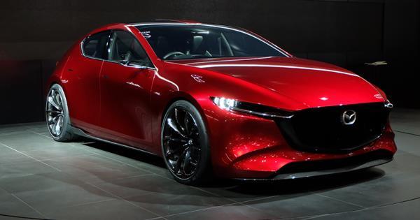 Mazda Kai Concept  ยนตรกรรมต้นแบบของ  New Mazda 3 ปี 2019