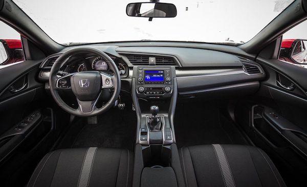 เทคโนโลยีภายใน Honda Civic 2018 ก็ยังคงทำได้ดี