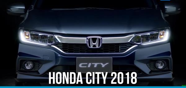 Honda City 2018 สภาพภานนอกเเละภายใน