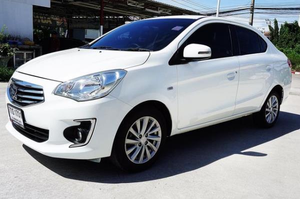 Mitsubishi Attrage   รถยนต์อีโคคาร์ ตลาดรถมือสองเมืองไทย ซื้อ-ขาย เริ่มต้น 200,000 บาท (โดยประมาณ)