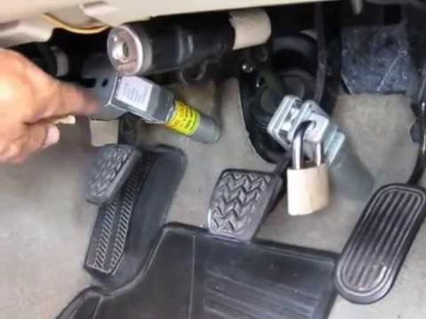 ล็อคเกียร์ – เบรก – คลัทช์ ป้องกันการโจรกรรมรถ