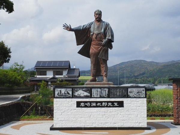 (Iwasaki Yatarō) เป็นนักการเงินและนักปฏิวัติอุตสาหกรรมส่งออกชาวญี่ปุ่น ผู้ก่อตั้งบริษัทมิตซูบิชิ