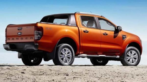 ดีไซน์ภายนอก  Ford Ranger  2018