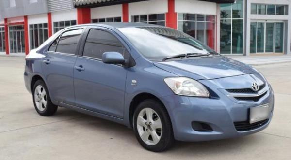 Toyota Vios 1.5  รถเก๋งอันดับหนึ่ง ของตลาดรถมือสองในประเทศไทย