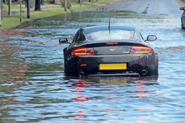ประกันรถยนต์ น้ำท่วม