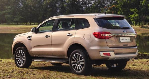 Ford Everest Minorchange   เปิดตัวในไทยแล้ว