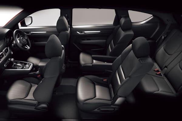 ภายในของ Mazda CX-8 2018