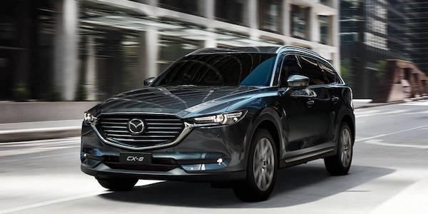 Mazda CX-8 โฉบเฉี่ยวพร้อมลุยทุกสถานการณ์