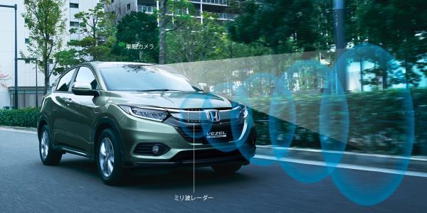อุปกรณ์อำนวยความสะดวกของ Honda HR-V Facelift 2018