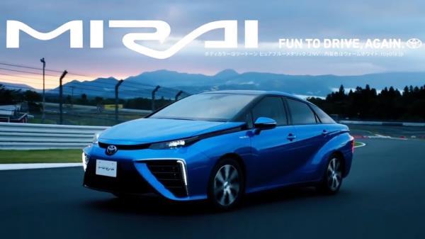 Toyota Mirai กับเทคโนโลยีพัฒนา รถใช้พลังงาน Hydrogen แห่งอนาคต