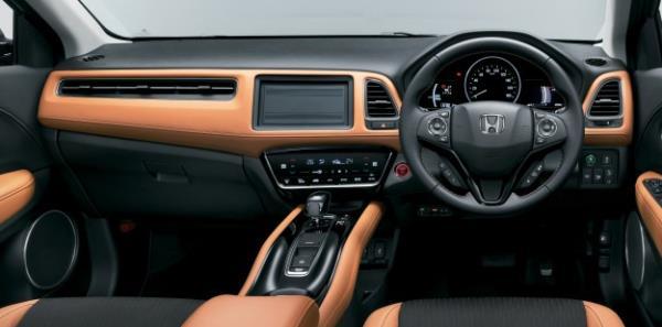 ดีไซน์ภายใน Honda HR-V Facelift 2018