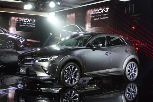 ดีไซน์ภายนอก Mazda CX-3 Minor Change 2018