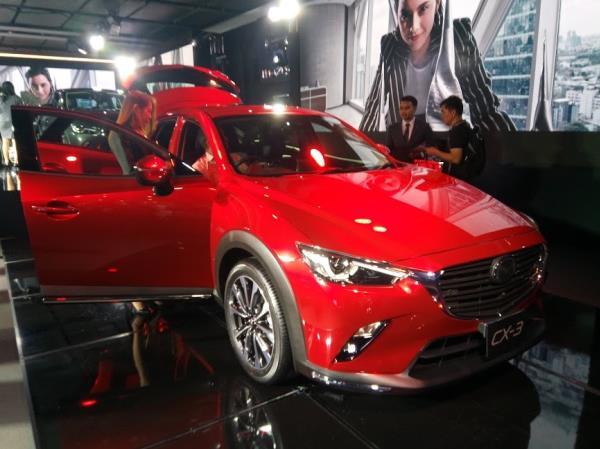 Mazda CX-3 Minor Change 2018  เวอร์ชั่น ประเทศไทย