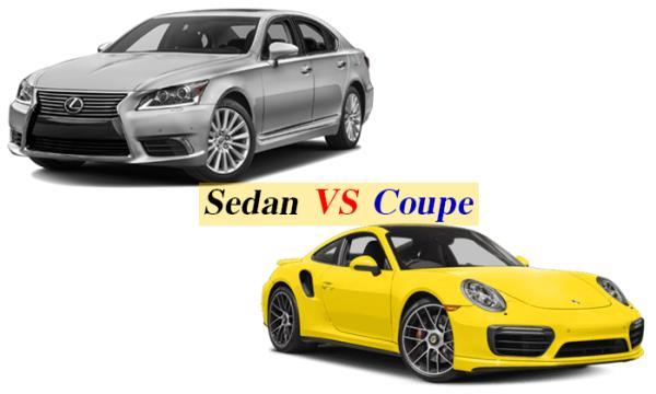 ความแตกต่างระหว่าง Sedan & Coupe