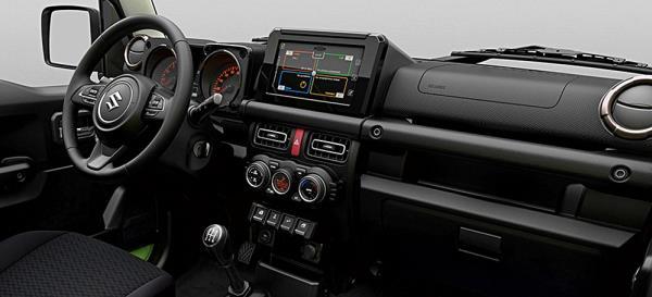 ภายในห้องโดยสาร ของ All NEW Suzuki Jimny