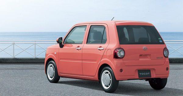 Daihatsu Mira Tocot ที่มีสีให้เลือกเยอะมาก