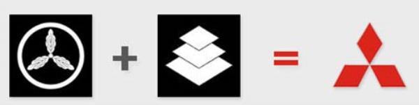 โลโก้สี่เหลี่ยมข้าวหลามตัด 3 รูป หรือเพชร 3 เม็ด (Three Diamond)