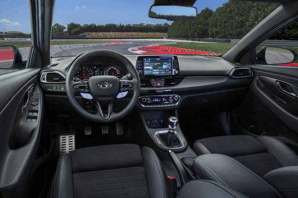 ภายในของ Hyundai i30 N