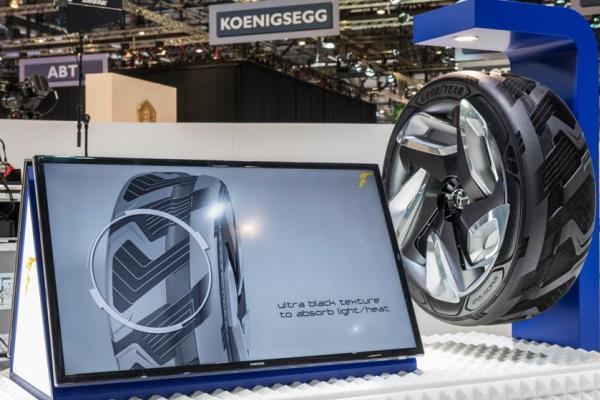 เทคโนโลยี ยางรถยนต์ผลิตกระแสไฟฟ้าได้เอง