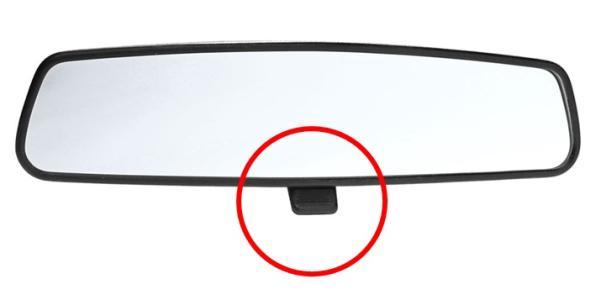 กระจกมองหลังสามารถลดแสงจ้าของไฟหน้ารถคันหลังได้