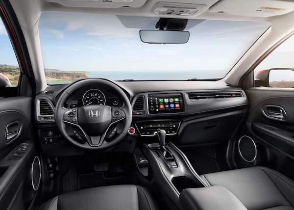 ภายในห้องโดยสารของ Honda HR-V 2018 Minorchange