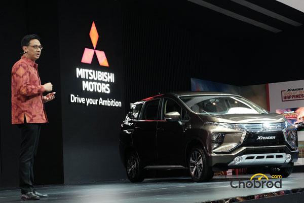 """เปิดตัว """"Mitsubishi Xpander"""""""