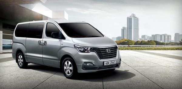 ภายนอก Hyundai H1 2018